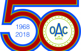 Logo: 50 Jahre OAC im ADAC